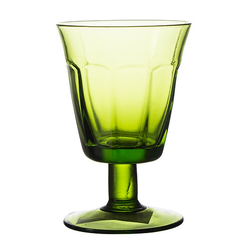 "AYZ 23006 ""ColorOld"" Hand-made 10.5 oz. Goblet Glass - 24/Case"