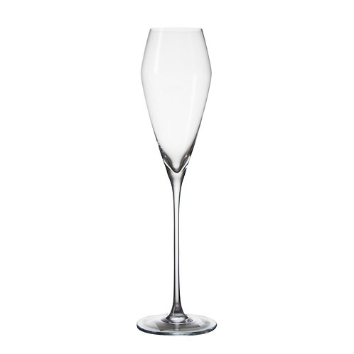 "AYZ 19004 ""Ballet"" 7 oz. Hand-made Champagne Flute Glass - 24/Case"