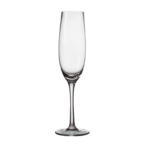 AYZ 19022 8 oz. Hand-made Champagne Flute Glass - 24/Case