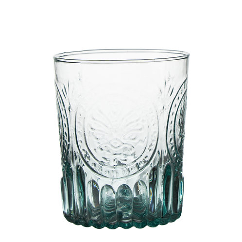 """AYZ 20007 12 oz. """"ColorOld"""" Hand-made Whiskey Glass - 24/Case"""