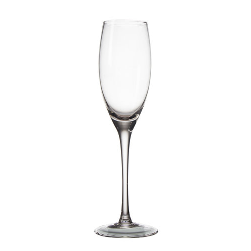 AYZ 19023 8 oz. Hand-made Champagne Flute Glass - 24/Case