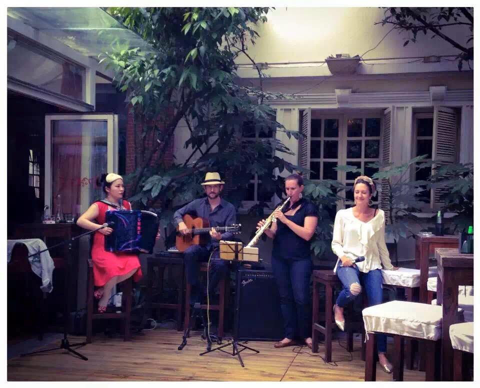 Concert/brunch au cotton's