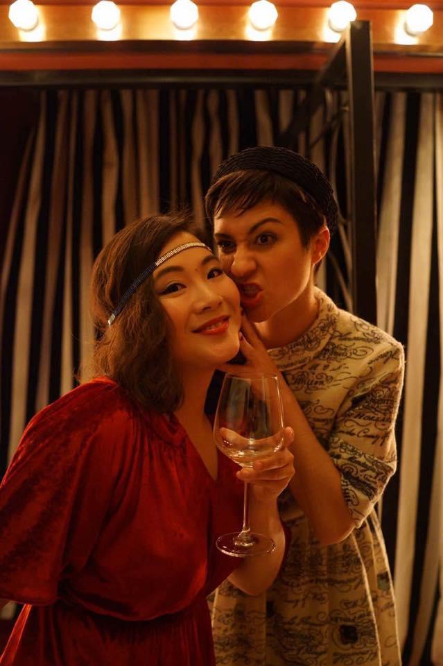 Shengji et Miss Helene