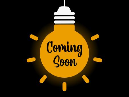 Coming Soon: Weekly Blog