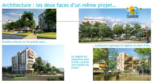 ARCHITECTURE : Les deux faces d'un même projet.