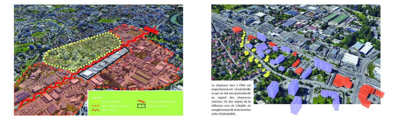Analyse des formes urbaines environnantes