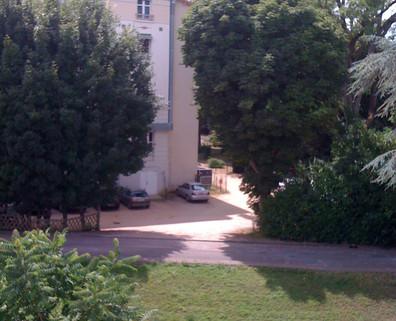 La Roche Posay Apt Victor Hugo N° 132 - Vue des fenêtres de l'appartement
