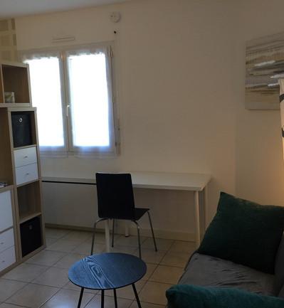 Bruz - Rennes appartement Bruzois - Espace salon et bureau