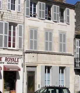 Rochefort Appartement Skipper - Façade immeuble