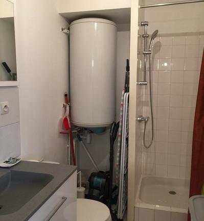 Bruz - Rennes appartement Bruzois - salle de bain