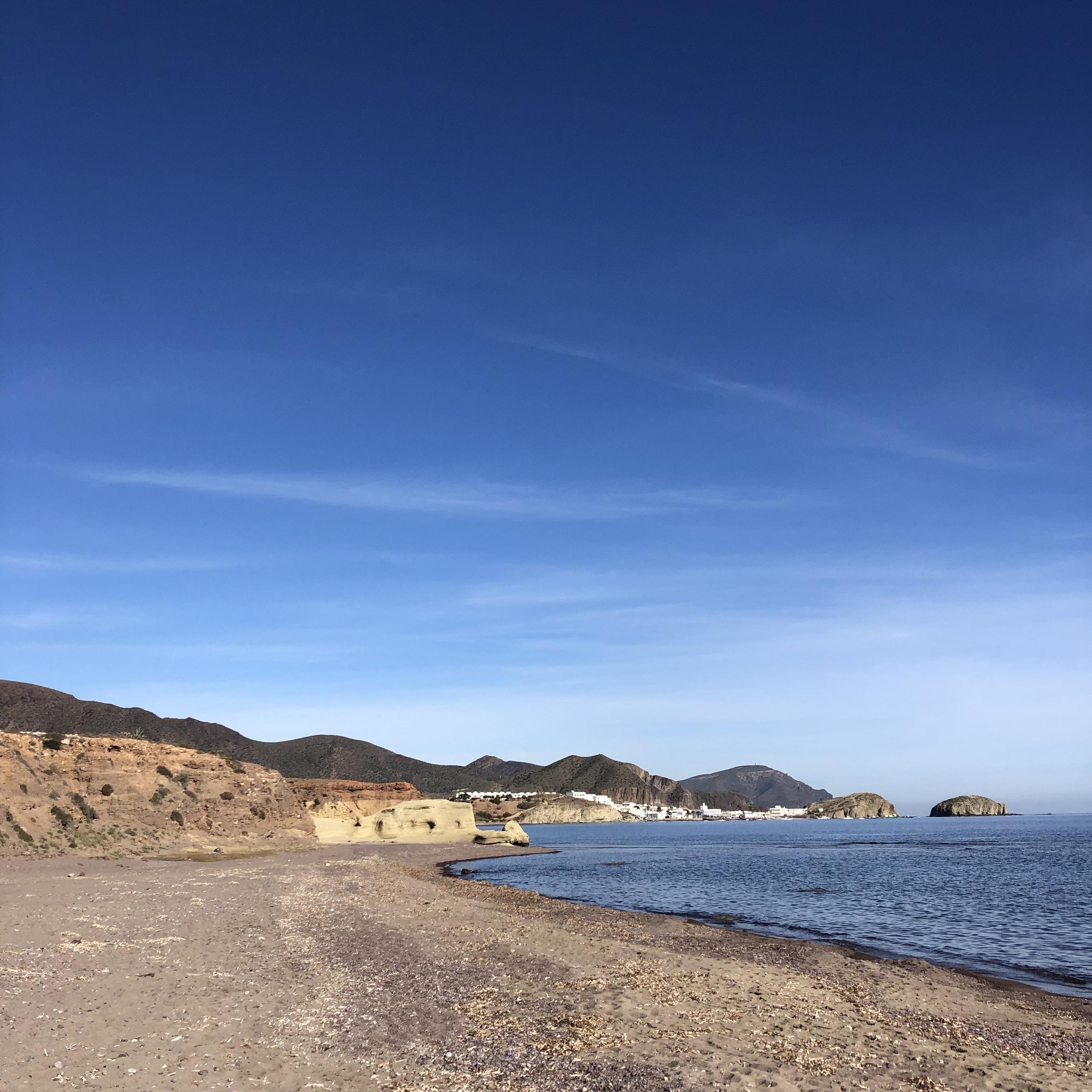 Los Escullos beach