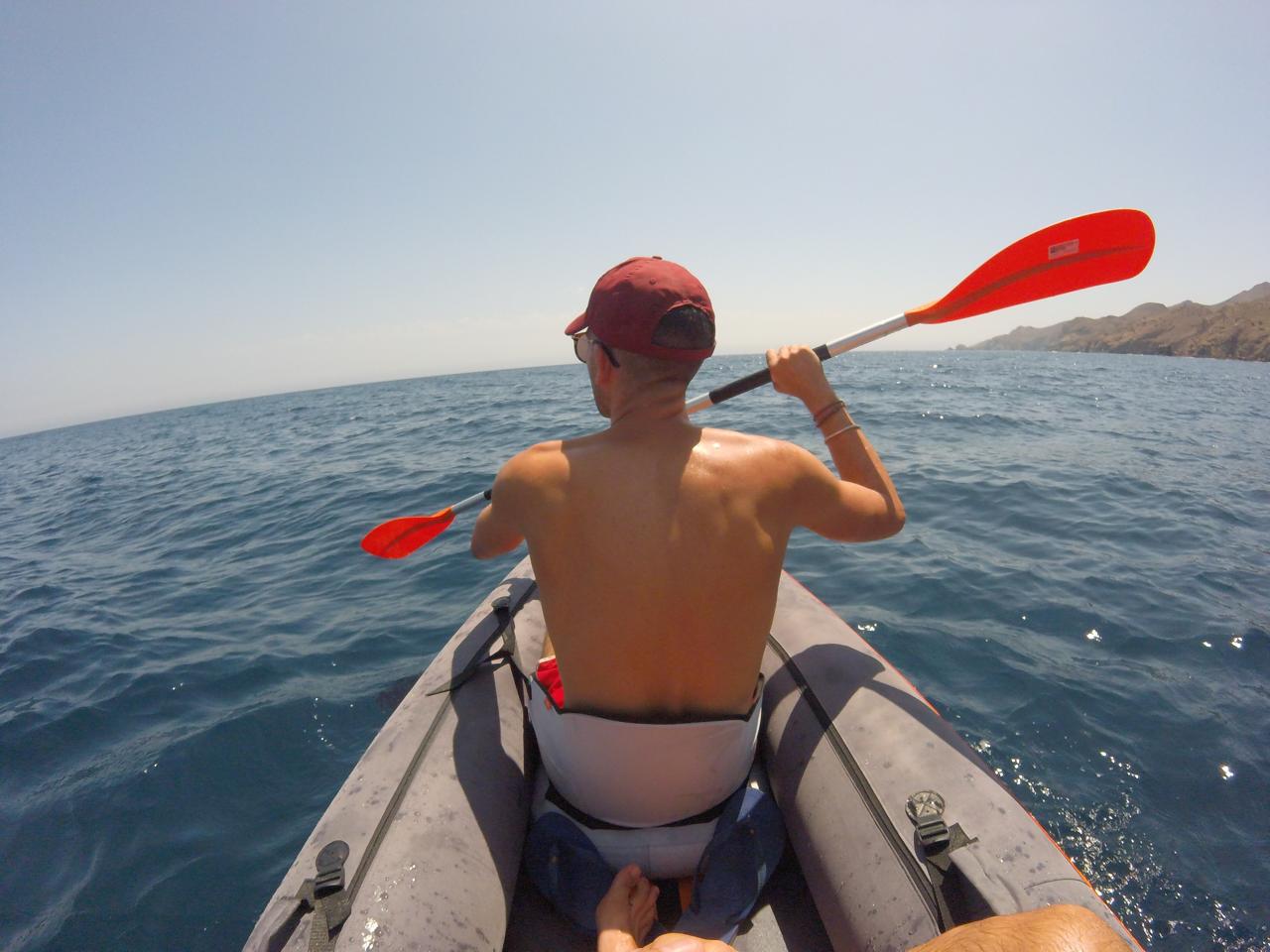 Kayaking Los Escullos