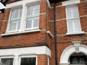 Wooden Shutters For Traditional Wooden Sash Period Property, Tonbridge, Kent