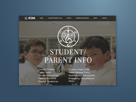 New Website Design!