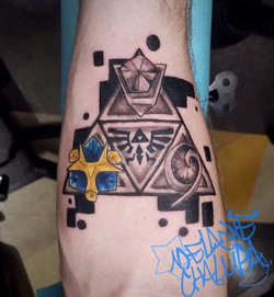 Black and Grey, Colored, Nerd Symbol on