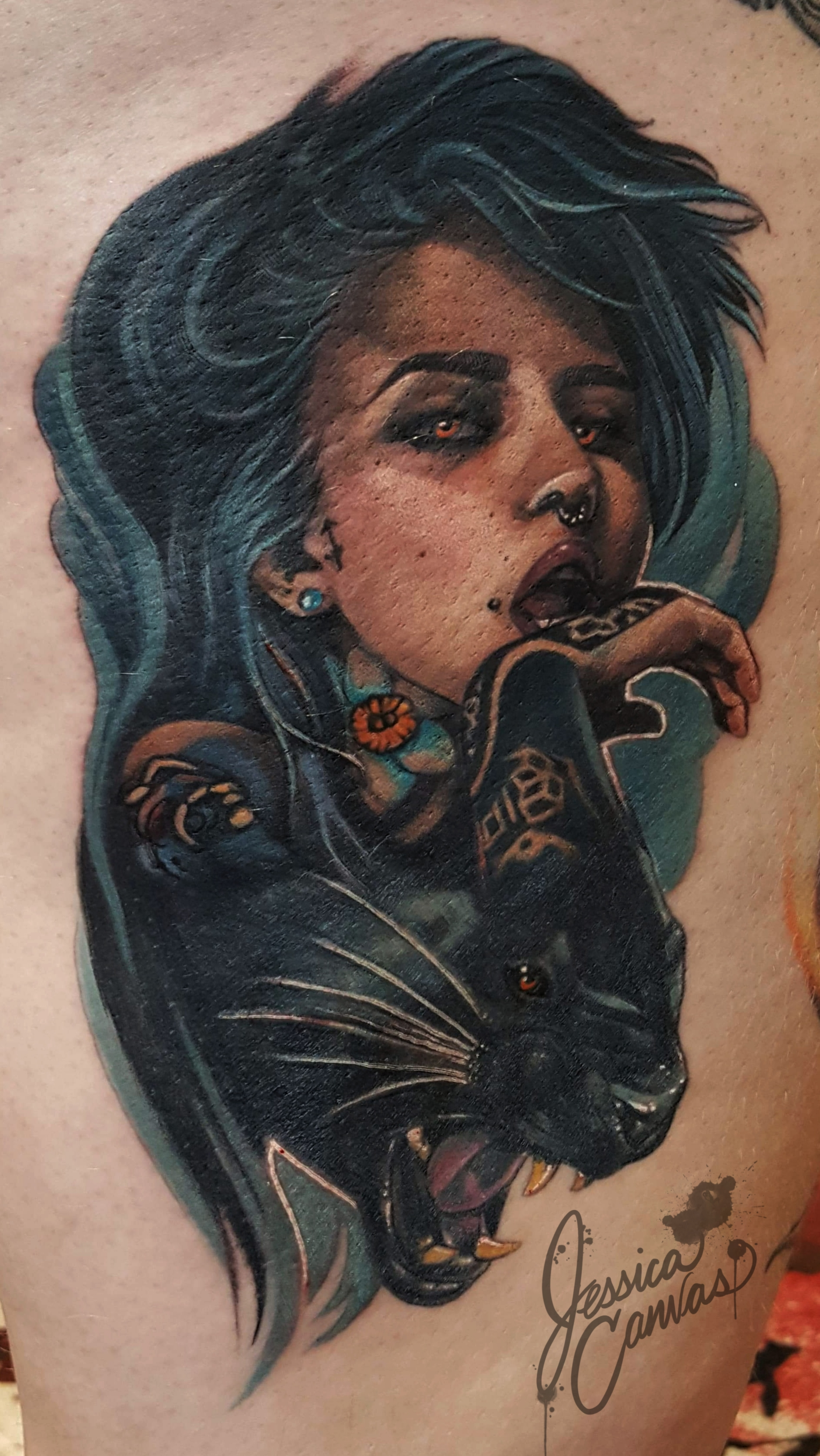 Fishball Suicide Black Panther Lady Morp