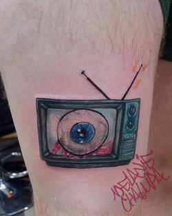 Colored Eyeball_ Macabre_ Leg _ Thigh