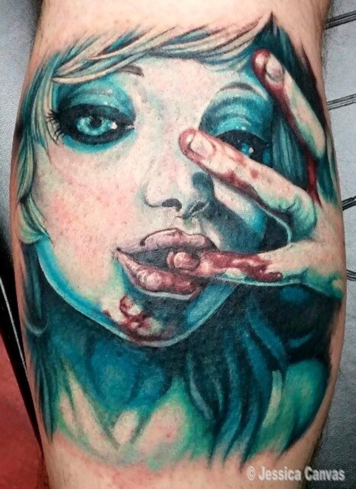 Horror Blood Lust Girl