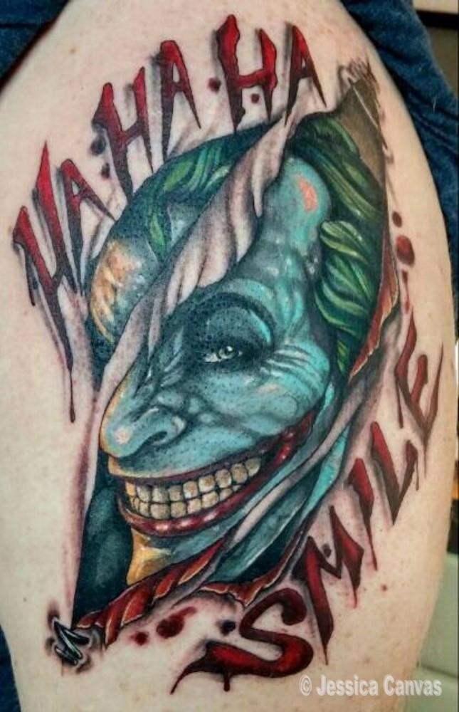 Skin Tear Joker - Batman