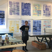 Kerr Effect printing at Center for Contemporary Printmaking
