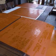 post exposing Dispersion series solar plates in Sag Harbor