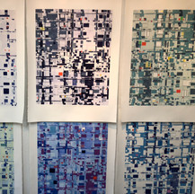 MOBO series in progress at Center for Contemporary Printmaking