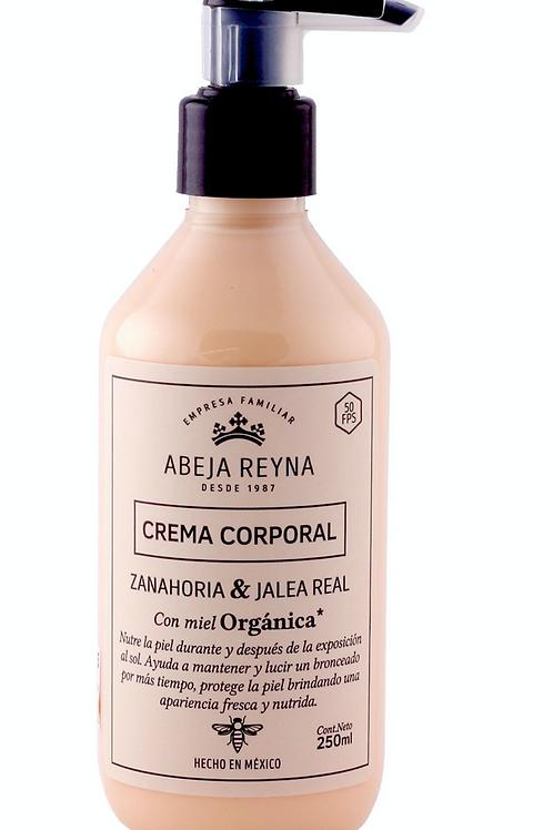Crema Corporal Orgánica Zanahoria y Jalea Real