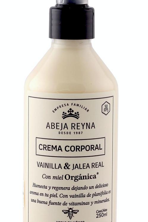 Crema Corporal Orgánica Vainilla y Jalea Real