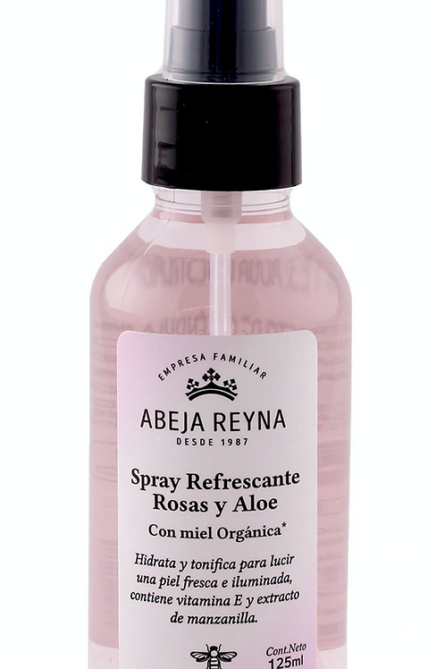 Spray Refrescante de Rosas y Aloe