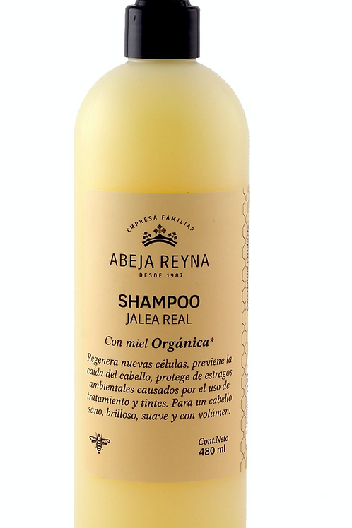 Shampoo Miel Orgánica y Jalea Real