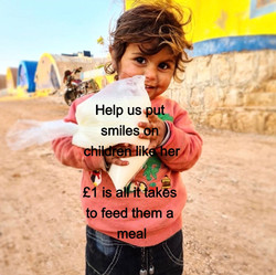 £1 meal is all that it takes to make them smile