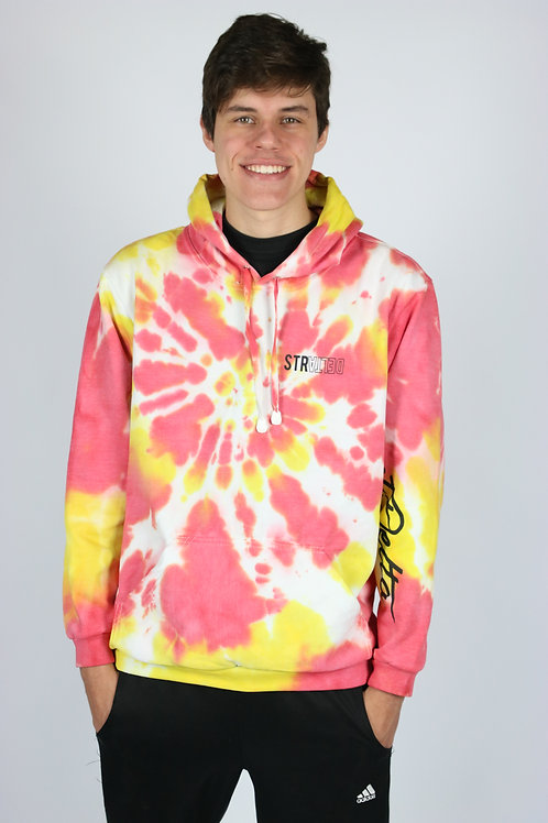 MOLETOM TIEDYE MCRED
