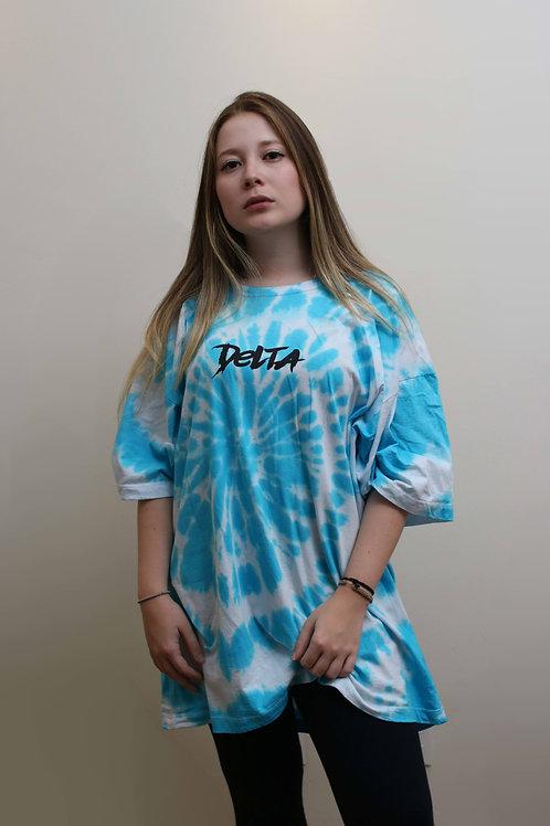 CAMISETA TIEDYE BLUE