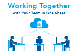 Working together with your team in one sheet