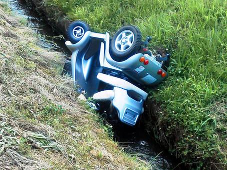 電動車いす、3年で11人死亡 消費者事故調が注意喚起