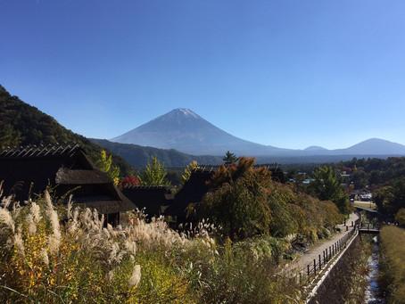 11月5日 富士山へ行ってきました。