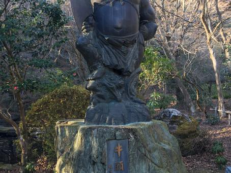 一年の感謝を込めて竹寺へ