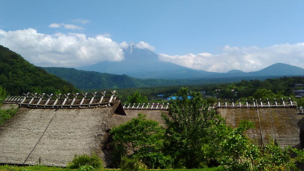 富士山 いやしの里根場 「見晴らし屋」