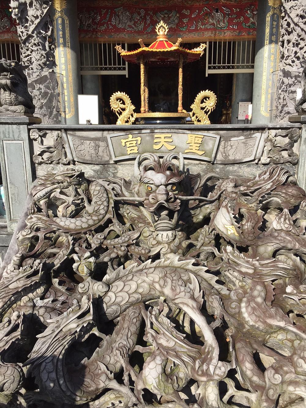 聖天宮の龍