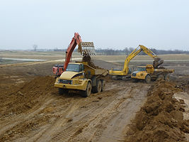 Steger Construction Inc Dyersville Iowa, 52040, Excavating, Heavy Highway, Contractor, Grading, Site Grading