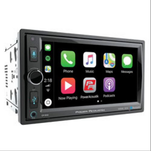 "Power Acoustik - 6.5"" LCD 2-DIN Digital Media Car Stereo with Apple CarPlay, USB"