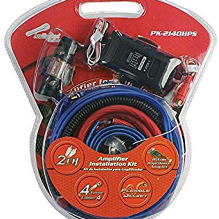Audiopipe Complete 4 Gauge Amp kit with Line Out Converter  Report incorrect pro