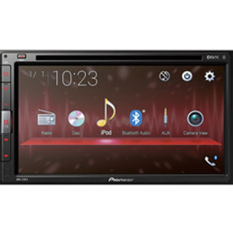 """Pioneer Electronics – 6.8"""" WVGA Multimedia DVD Receiver with Built-in Bluetooth"""