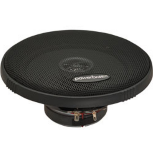 "PowerBass Autosound - 6.5"" 2L Series Full Range Coaxial Speaker, 60W/180W"