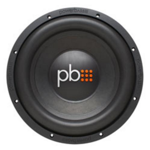 """PowerBass Autosound - 12"""" S Series SVC 4 Ohm Subwoofer, 600W Peak"""