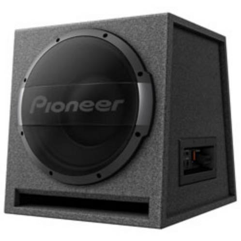 Pioneer Electronics - 12-Inch Ported Active Subwoofer Enclosure w/ Built-In Amp