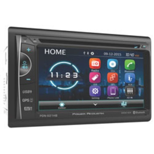 Power Acoustik - 2-DIN GPS Nav, MHL MobileLink X2, DVD, Bluetooth, CD/USB/MP3 wi