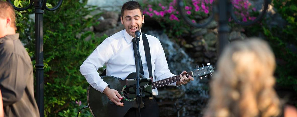 Wedding Singer in CT Connecticut Guitar