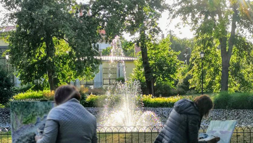 Pleneras Bernardinų sode