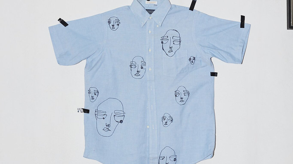 Short Sleeve Doodle Shirt